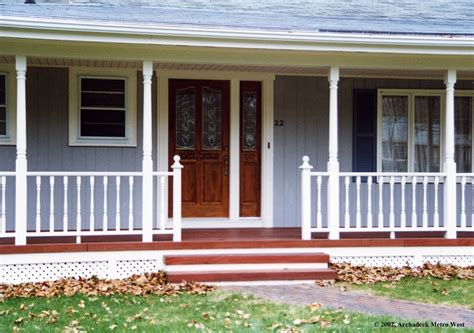adding a porch to a ranch style house with porches house