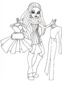 As Monster High Coloring Pages