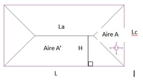 comment calculer la surface d une chambre calculer la surface de toit distriartisan