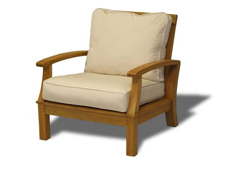 birds casual monterey teak deep seating armchair