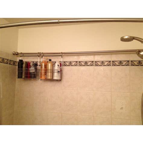 organizing ideas for bathrooms brilliant idea for storage in an shaped bath shower i
