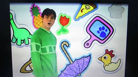 Blues Clues- My Favorite Things. Music Video