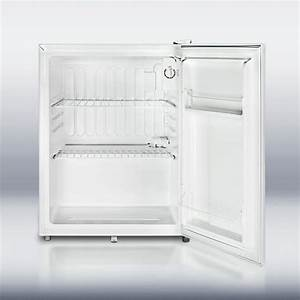 Summit Ff28l 2 5 Cu  Ft  Compact Refrigerator With