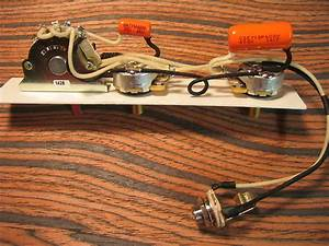 K D Paulus Guitar Parts Wiring Harness For Esquire  U2013 4 Way
