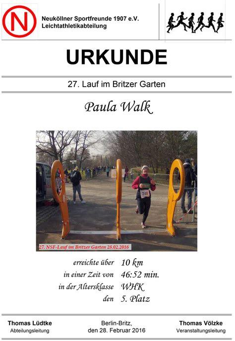 Nsf Britzer Garten Lauf by 27 Lauf Im Britzer Garten 28 02 16 Vegan Runners
