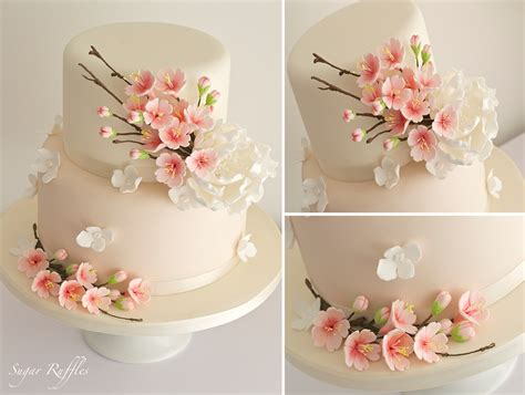 sugar ruffles elegant wedding cakes barrow  furness