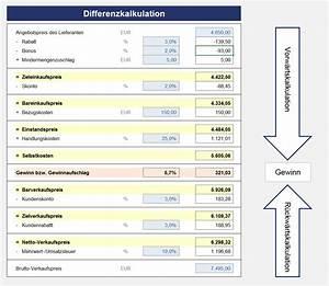 Angebotsvergleich Mit Excel Vorlagen De