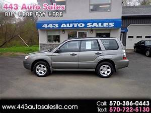 2006 Subaru Forester 4dr 2 5 X Manual For Sale In