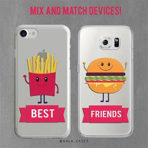 best friend iphone 5 cases best friend gift bff iphone case set iphone 7 plus case Best