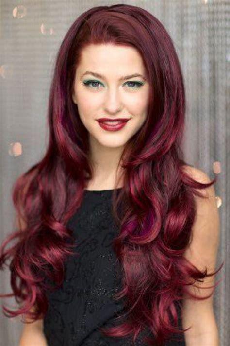 cheveux framboise la couleur qui cartonne en 2016 trend zone