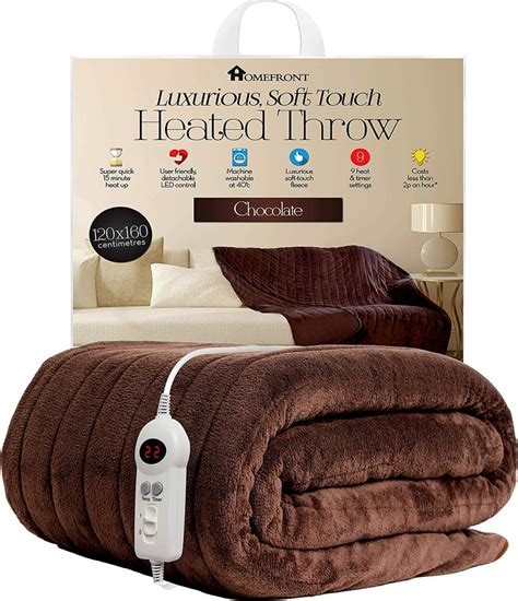 Settee Throw Overs by Heated Throw Blanket Electric Sofa Settee Bed