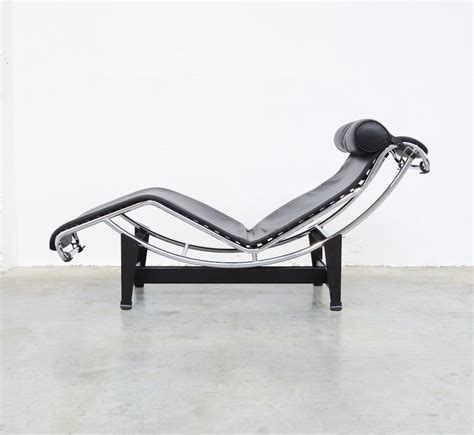 chaise longue lc4 by le corbusier for cassina vintage