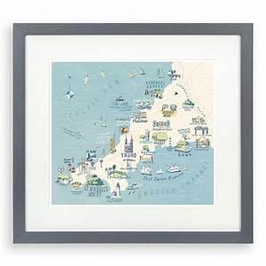 Cornwall Framed Print - Tutti Decor Ltd