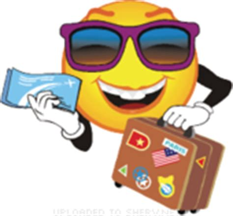 travel  holiday emoticons   animations