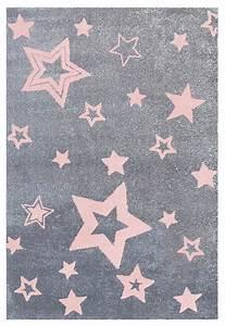 Teppich Kinderzimmer Grau : teppich mit sternen grau rosa ~ Whattoseeinmadrid.com Haus und Dekorationen
