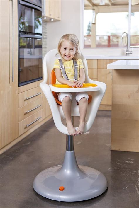Amazoncom  Boon Flair Pedestal Highchair With Pneumatic