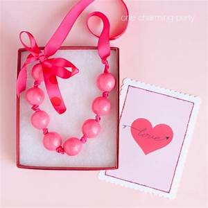 {14 Days of Sweet Valentine's Day Ideas} Gumball Necklace ...