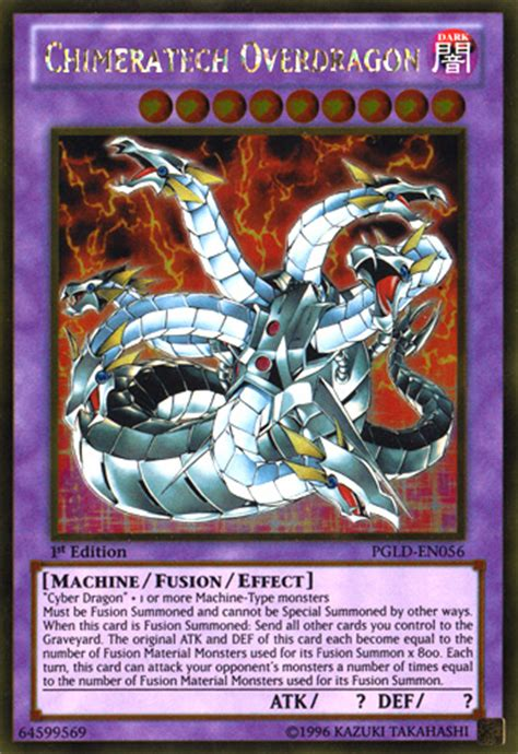 yugioh tag force mania chimeratech overdragon deck