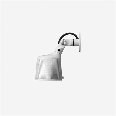 vipp 524 perforated wall spot light white panik design