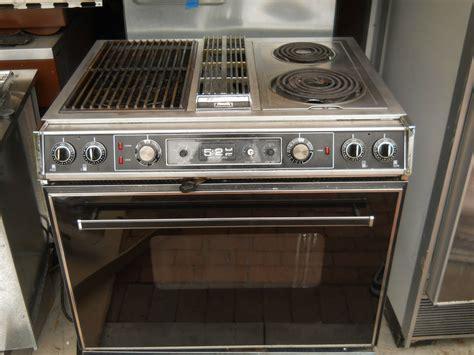 Jenn air s125 downdraft range with grill unit eBay