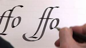 Capital Letter Calligraphy – A through D – Monkeysee Videos