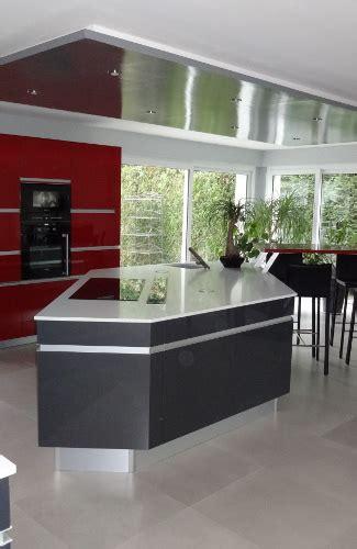 plan de travail cuisine 4m modele cuisine avec ilot central kirafes