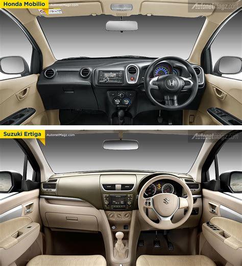 Perbandingan Honda Mobilio Vs Suzuki Ertiga