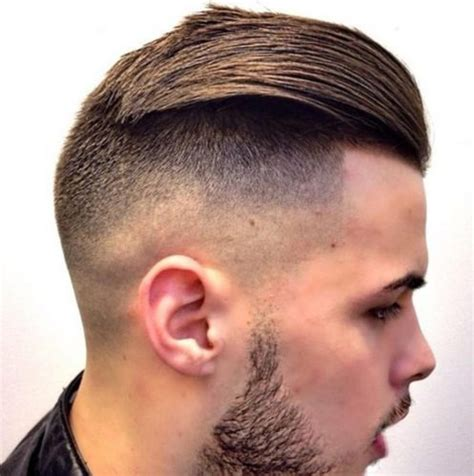 stunning comb  fade hairstyle ideas  men