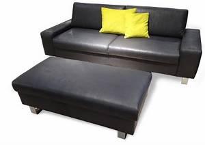 Sofa 3 Sitzer Mit Hocker : weiches sitzen auf einem 2 sitzer sofadepot ~ Bigdaddyawards.com Haus und Dekorationen