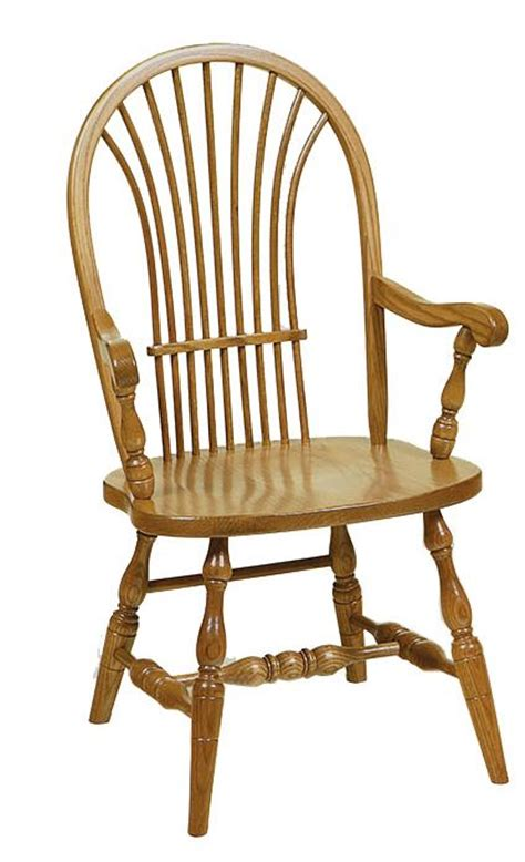 amish wheat back chair