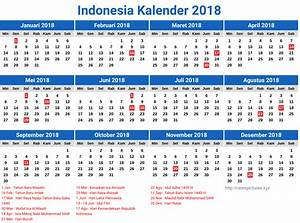 Indonesia Kalender 2018 Related Keywords Indonesia