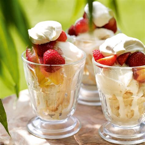 five minute fruit sundae recipe