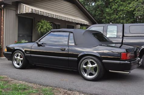 Ford Mustang Foxbody  Convertible Mustangs Pinterest