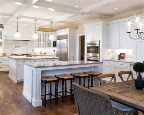 houzz kitchen island ideas 2 islands kitchen design ideas remodel pictures houzz