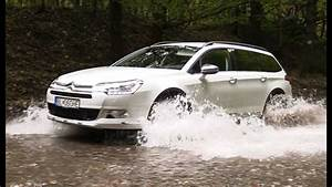 Citroen C5 Tourer- Offroad Demo