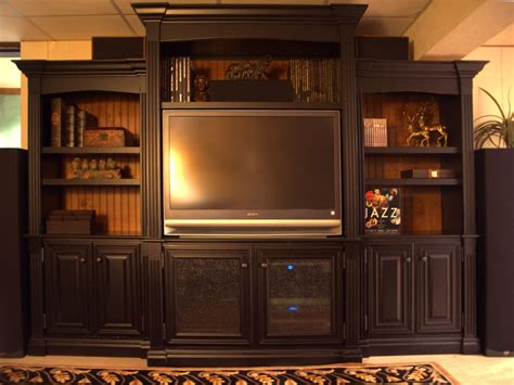 handmade entertainment center  terrys fine woodworking