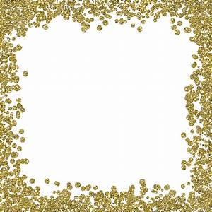 12x12 Gold Glitter Border 1 - New Kid On The Block