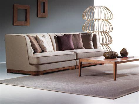 tissu de canapé canapé 3 places prado canapé tissu et bois