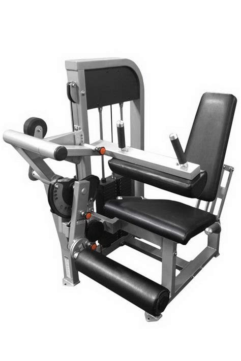 muscle  fitness leg extension seated leg curl combo