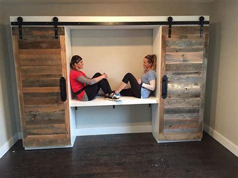 pallet wardrobe  sliding doors vc great home