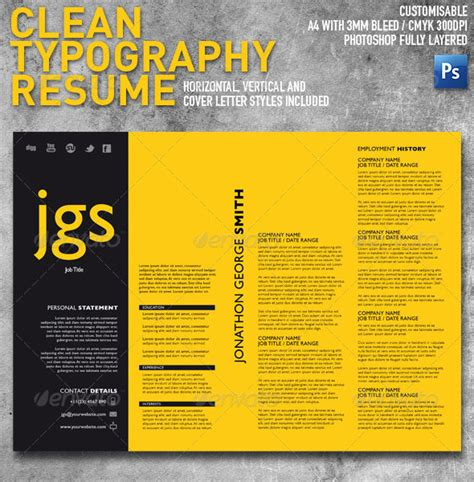 27 creative photoshop indesign resume templates wakaboom