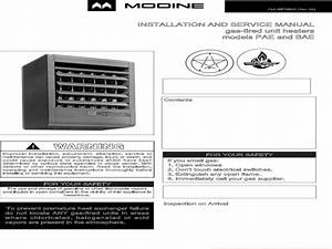 Modine Garage Heater Wiring Diagram