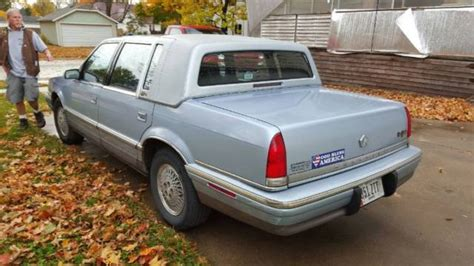 electric and cars manual 1992 chrysler fifth ave lane departure warning 1992 chrysler new yorker fifth avenue sedan 4 door 3 8l for sale photos technical