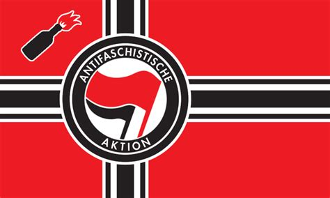 The New Antifa Flag By Linumhortulanus On Deviantart