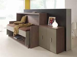 Lit Armoire Gain De Place : meubles fuscielli meubles gain de place contemporains ~ Premium-room.com Idées de Décoration