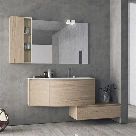 mobiletti bagno sospesi composizione mobili bagno moderni sospesi calix novello