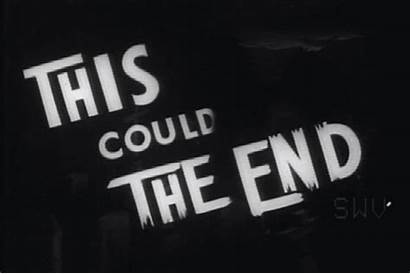 End Could Animated Horror Caps Screen Gifs