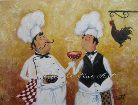 Italian Chef Kitchen Wall Decor by Chefs Print Chef Paintings Kitchen Wall