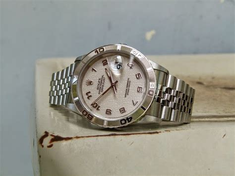 jam tangan for sale rolex datejust turn o graph ref 16264 jubille quot sold