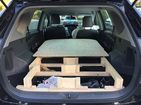platform bed   prius  wagon ready